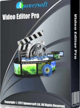 Apowersoft Video Editor Pro crack download