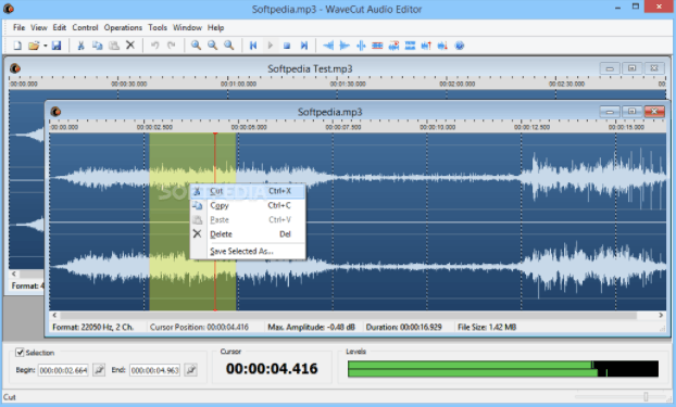 AbyssMedia WaveCut Audio Editor crack download