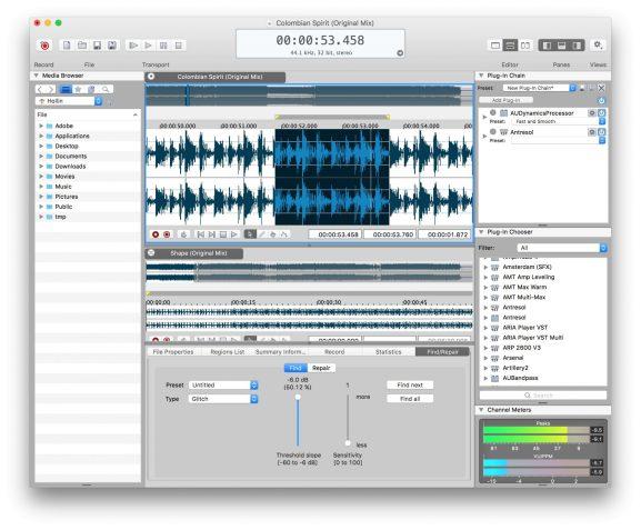 MAGIX SOUND FORGE Pro Mac 3.0.0.100 Free Download