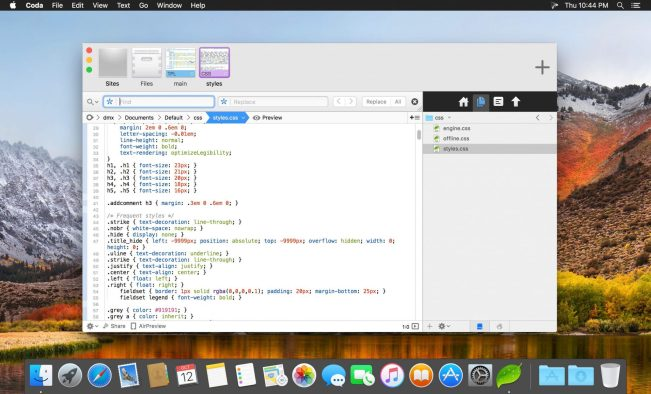 Coda 2.6.10 Free Download For Mac OS