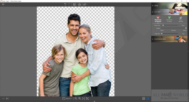 InPixio Photo Cutter 1.2.37 Free Download For Mac
