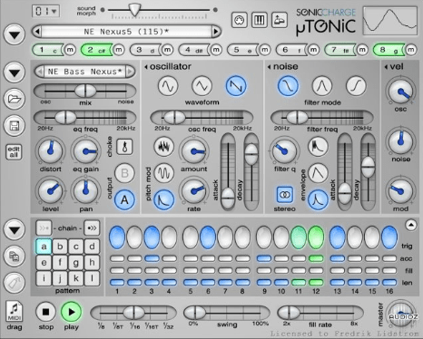 Sonic Charge Microtonic v3.20 Free Download
