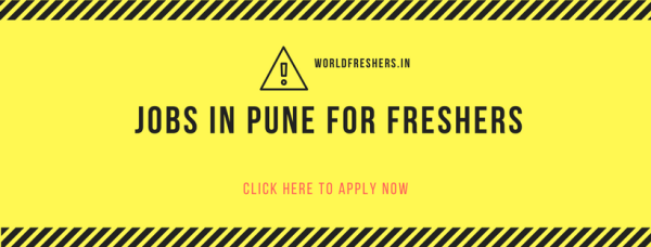 jobs in pune for freshers
