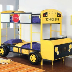 Sectional With Sleeper Sofa And Recliner Leather Cleaner Dubai Twin / Bunk Bed School Bus Design