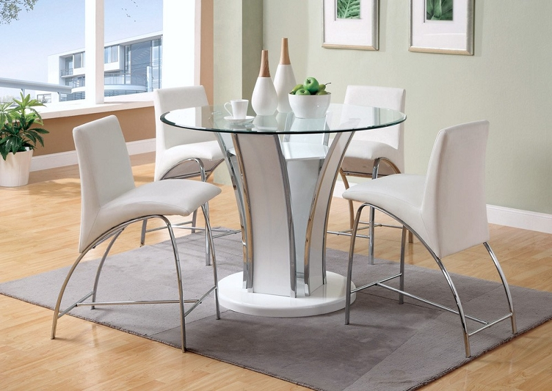table height high chair bar chairs with arms and backs 5pcs counter 4 cm8372wh jpg