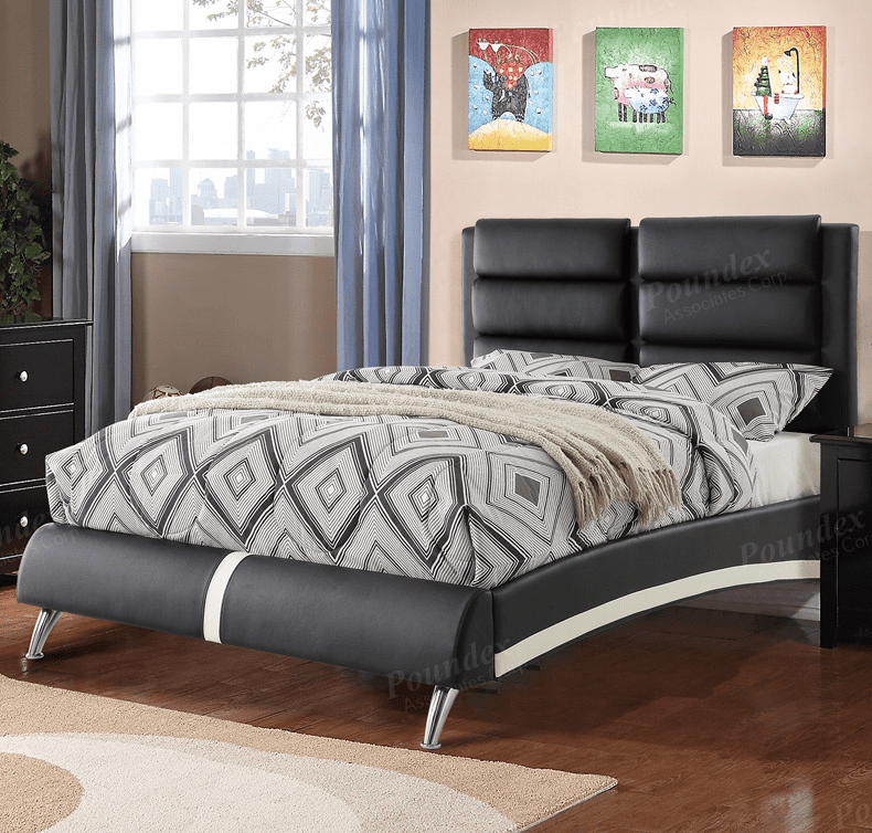 POUNDEX BRAND NEW QUEEN SIZE BED FRAME F9340