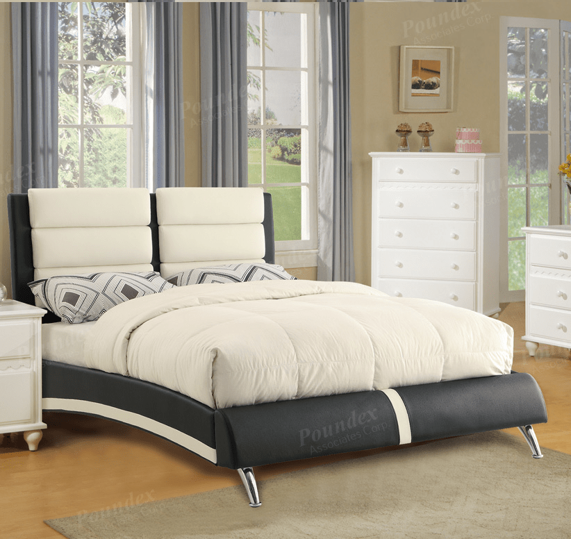 euro recliner chair how much fabric to cover a cushion poundex brand new queen size bed frame, f9341