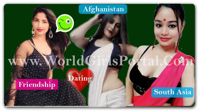 Afghanistan Girls Whatsapp Numbers List - 100% Real Kabul Women Mobile Numbers South Asia