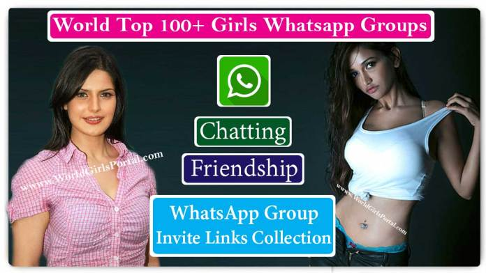 1000+ Girls WhatsApp Group Links For You to Join Latest 2020 Active Women Group