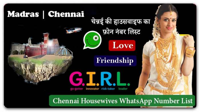 Chennai Housewives WhatsApp Number List for Friendship | Fun | Dating | Online