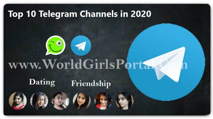Top 10 Telegram Channels in 2020 - Category