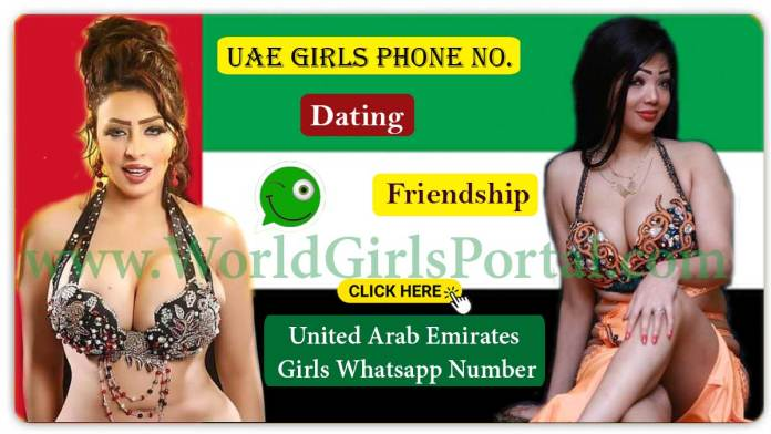 UAE Girls Phone Numbers – Arabic Women WhatsApp No. for Chatting, Dating