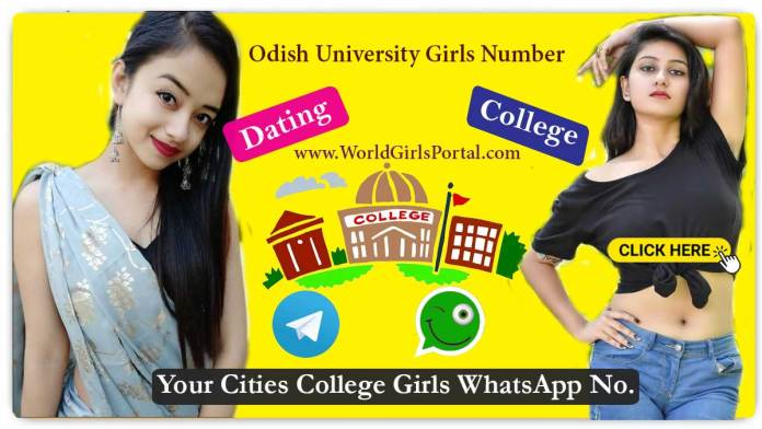 Odisha University Girls WhatsApp Number for Friendship, Live Chat, Hostel Girls, Campus Student
