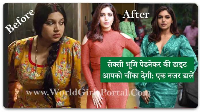 Bhumi Pednekar diet will surprise you: Take a look - How to Get Fitness | Bollywood Actress Diet Plan