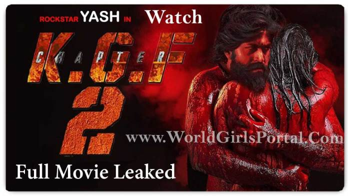 Full Movie KGF Chapter 2 Download Hindi Dubbed Online Free Watch HD 4K Quality - YASH - World Girls Portal