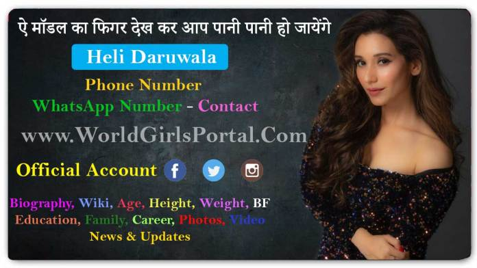 Heli Daruwala Biography, Wiki, Age, TV Actor, Photos, Video, Figure Size, BF, Career, Contact - News & Updates