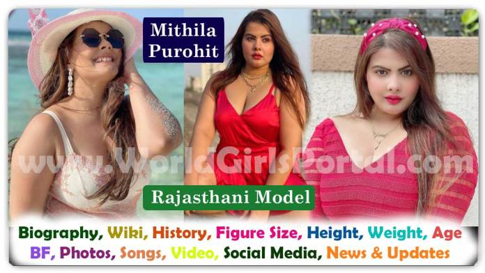Mithila Purohit Biography, Contact Details for Paid Promotion with Rajasthani Marwari Model, Influencer - Bikaner Girls WhatsApp Number for Collaboration