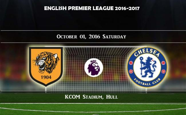 Hull City Vs Chelsea Live Streaming Match Final Score