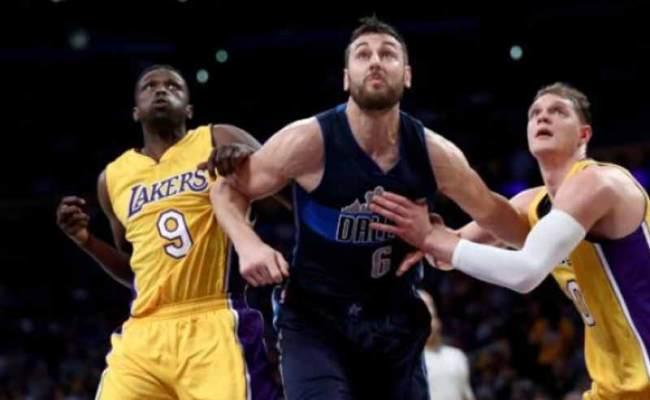 Dallas Mavericks Vs Los Angeles Lakers Lineups Score Nba