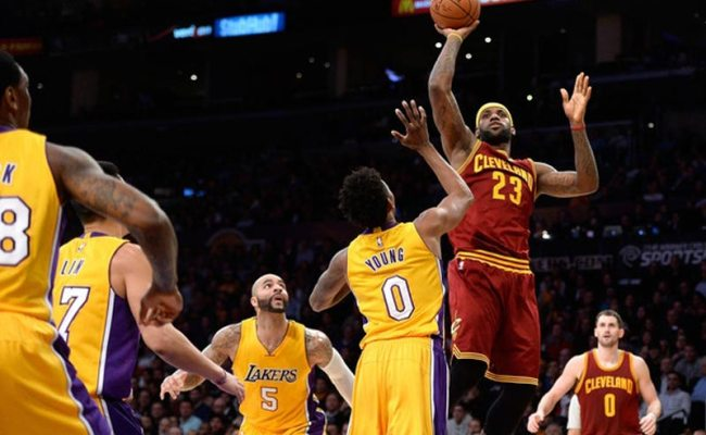 Los Angeles Lakers Vs Cleveland Cavaliers Live Streaming