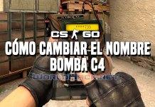 Guía Cómo cambiar el nombre a la bomba C4
