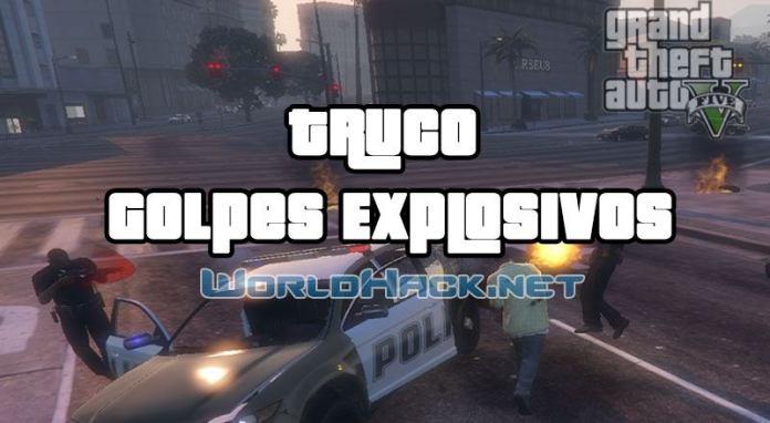 Truco Golpes Explosivos (puñetazos y patadas)