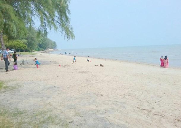 Pantai Morib Banting Image