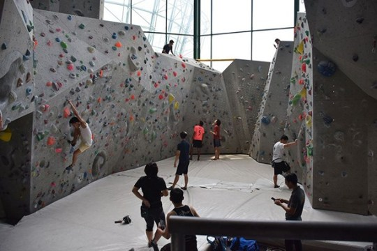 Camp 5 Indoor Climbing