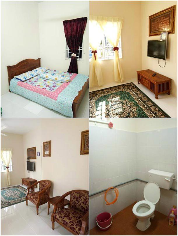 Homestay Azmi Zita - Room Image