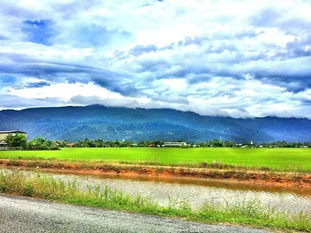 Gunung- erai Sungai Petani