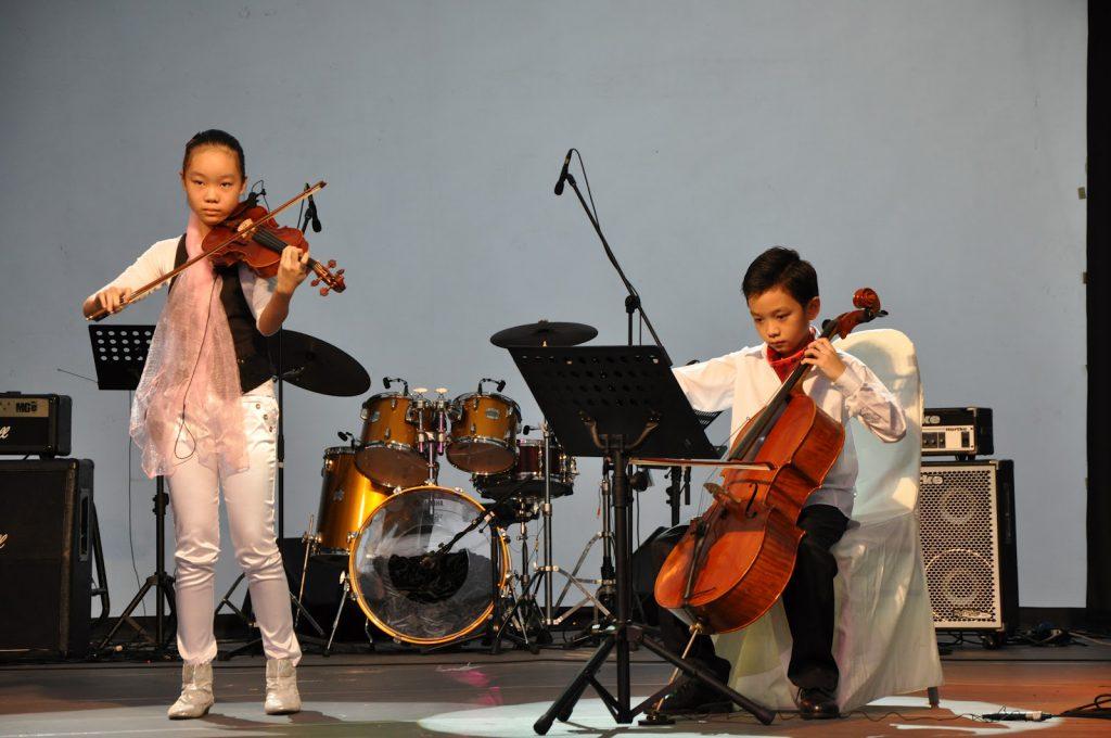 Yap Qin  Yap Yi at JB Art Festival 1