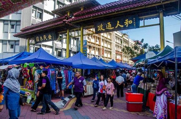 Gaya Street Market Kota Kinabalu