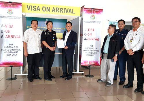 Ensure Visitors Informed about Visa on Arrival
