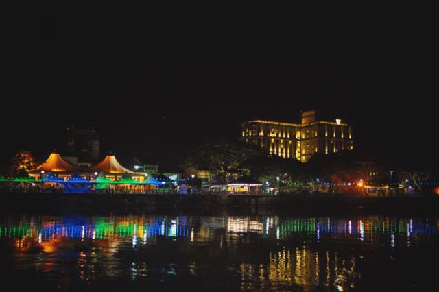 Better than we imagined! Waterfront, Kuching, Sarawak