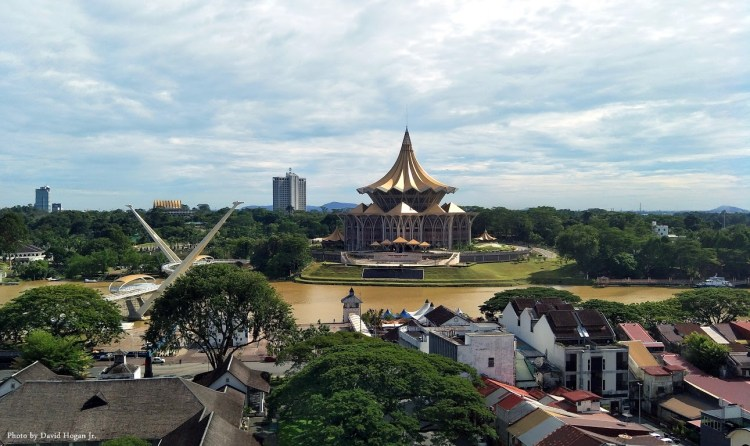 Seeing Kuching City on Foot