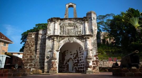 A Famosa Fort Melaka