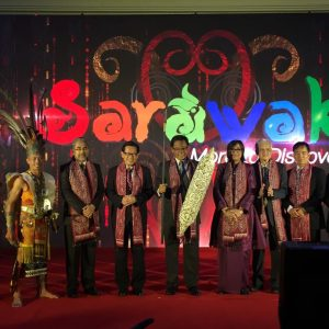 Sarawak Minister of Tourism, Arts, Culture, Youth and Sports Unveils Visit Sarawak Campaign Logo