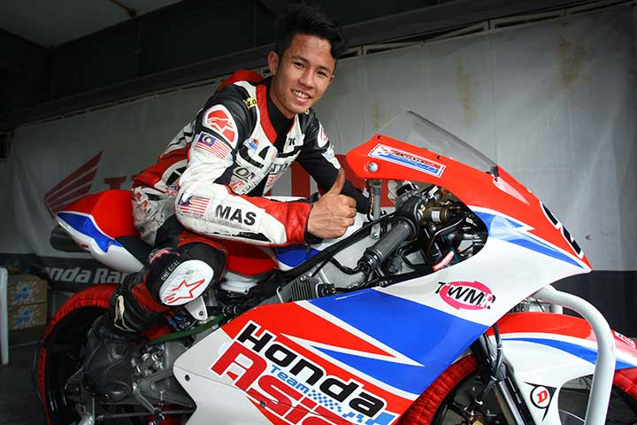All eyes will by on Malaysia's Khairul Idham Pawi — http://i-moto.com.my/
