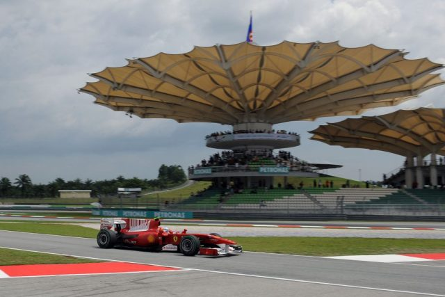 Great vantage point from Sepang's iconic stands