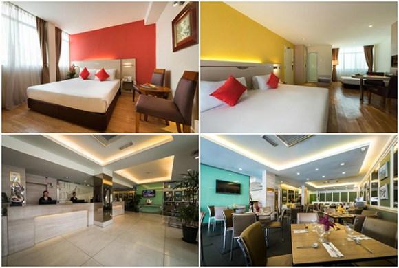 Hotel Sentral Georgetown Pulau Pinang - Room Image