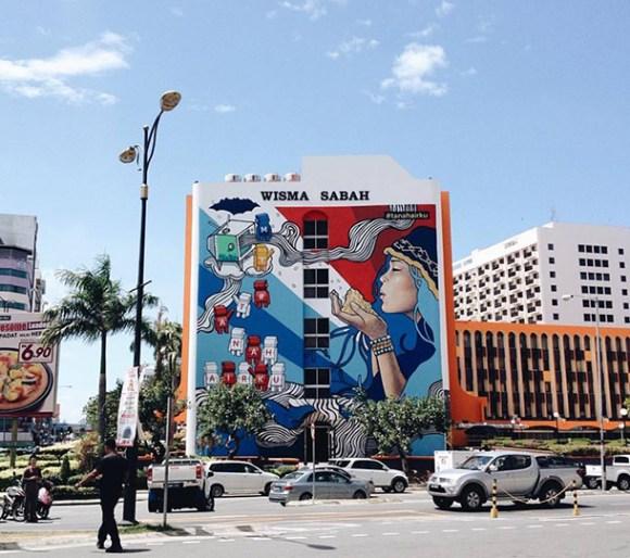 Street Art Graffiti Gallery Kota Kinabalu