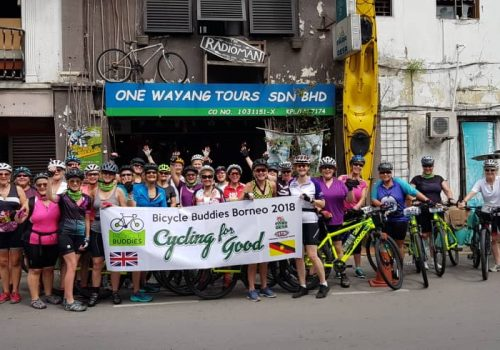 Cycling for Charity in Sarawak
