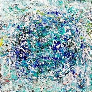 松田光一の世界遺産アート | 抽象画 | 地球の絵