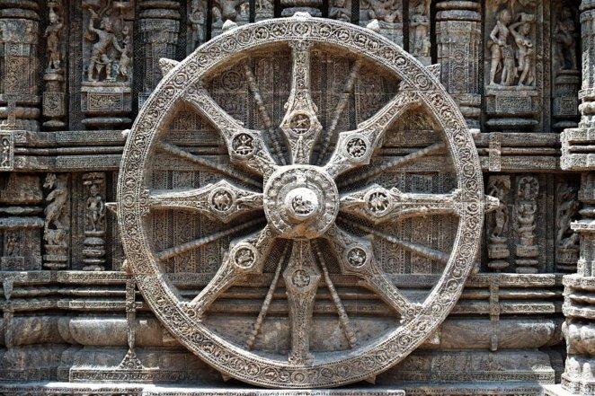 Dharma Wheel (Illustration) - World History Encyclopedia