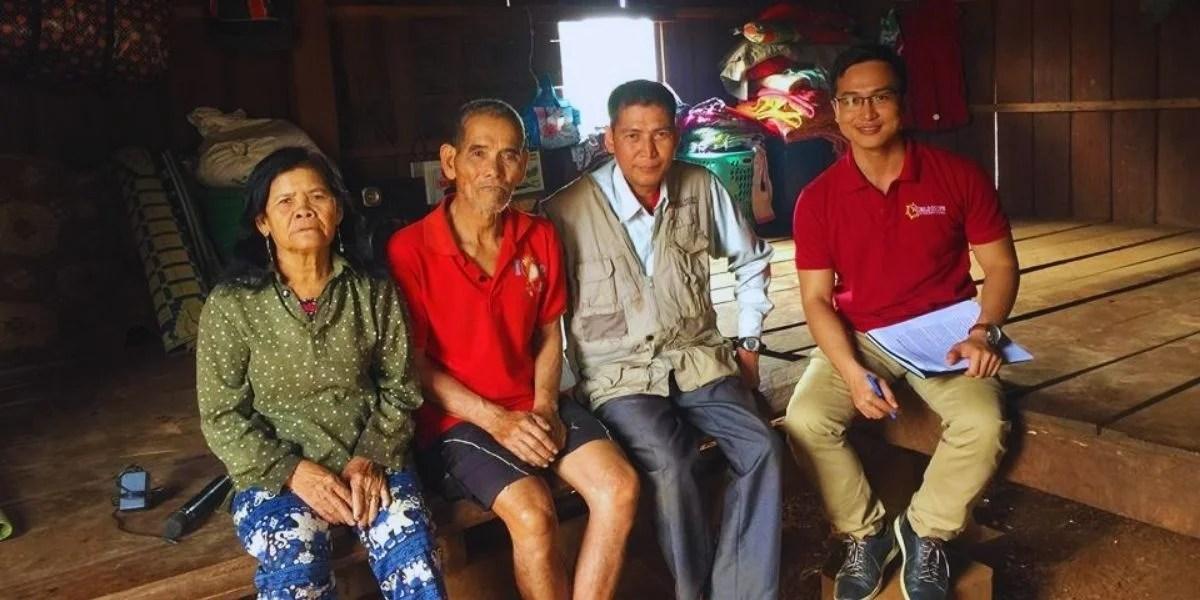 Seng Mang--with family