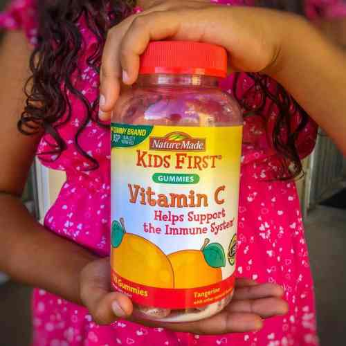 Healthy Kids Love Nature Made® Kids First® Vitamins, Here's Why