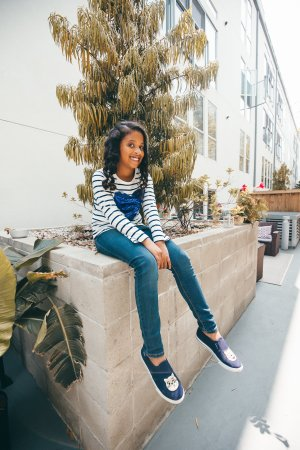 Believe it or not, Reese's favorite time of year (next to Christmas of course), is back to school. Not because she loves school, but because she loves back to school clothes. This year we went Back To School With OshKosh B'gosh and we're showing you all our cool picks.