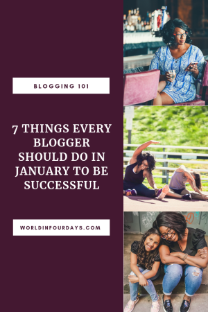 Whether you're new to blogging or have years of experience under your belt, you want to make sure you start the New Year prepared and ready to make money. To get you started on the right foot, here is my list of 7 Things Every Blogger Should Do In January to prepare for the New Year