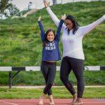 Comfortable fitness gear for girls from Athleta for Women In Sports Day #fashion #sports #kidsfashion #tweenfashion #athleta
