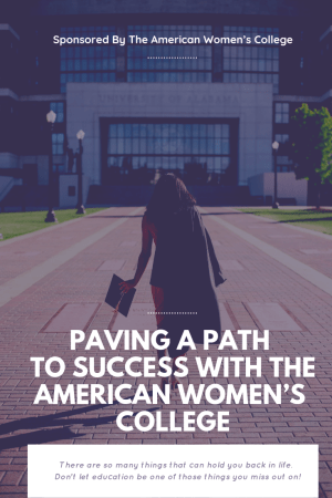 Are you a mom who wants to return to school but can't seem to find the time? With flexible online classes at The American Women's College, it is never too late. They are an accredited college that has over 25 degrees in some of the most professional and growing fields.